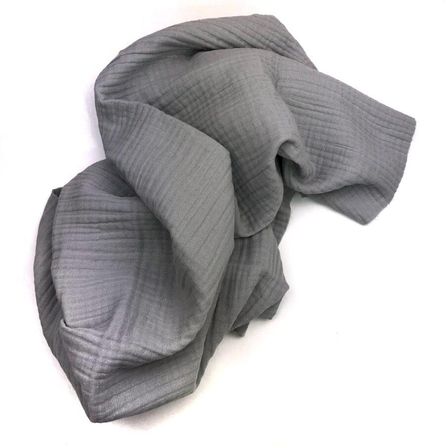 Licht grijze hydrofiele doek voor baby verzorging